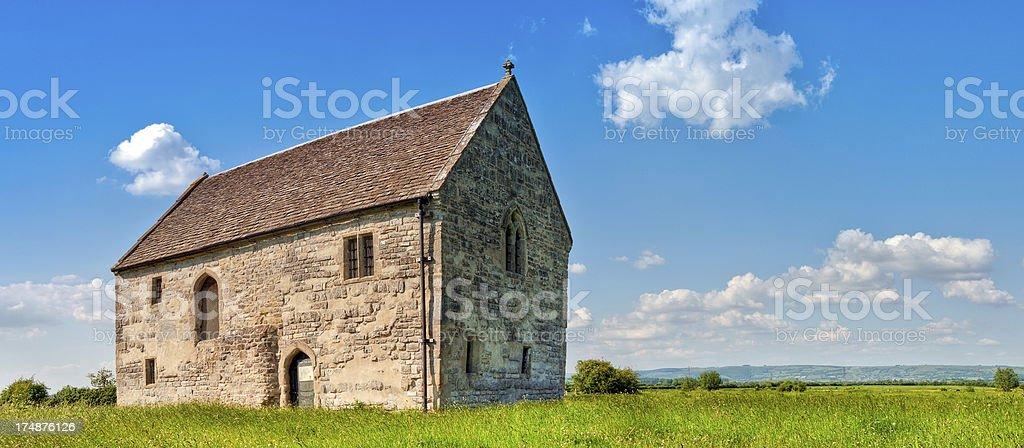 Abbots Fish House, Meare, Glastonbury, Somerset royalty-free stock photo