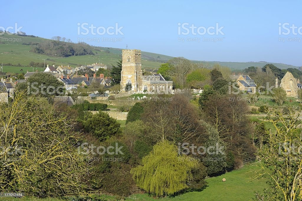 Abbotsbury in Dorset South West England. royalty-free stock photo