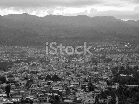 A bird's eye view of Abbottabad city