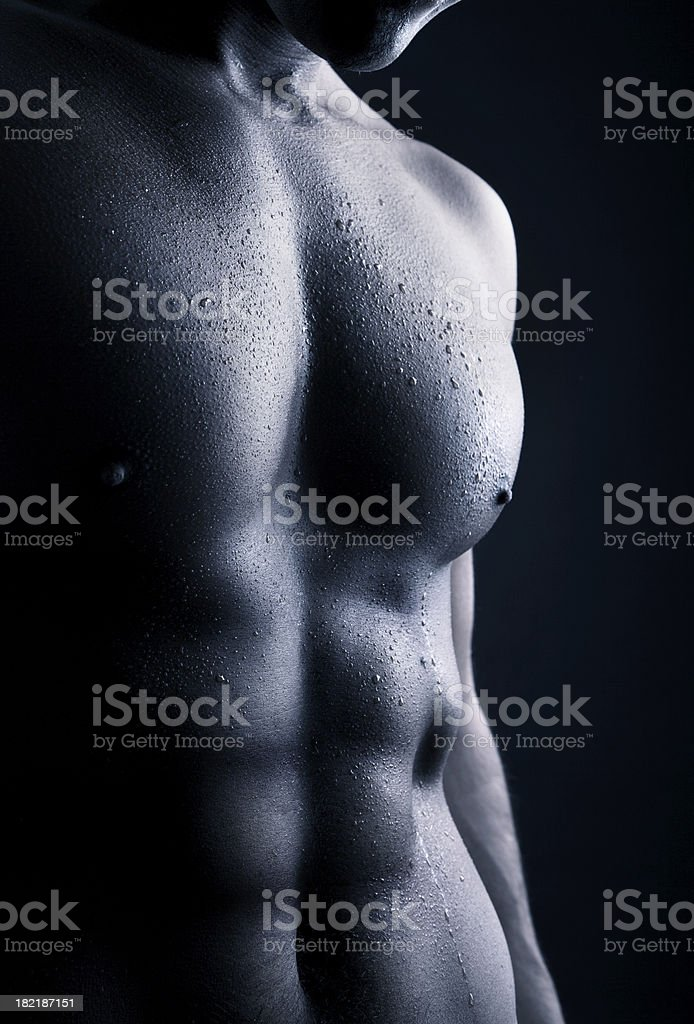 Abdomen stock photo