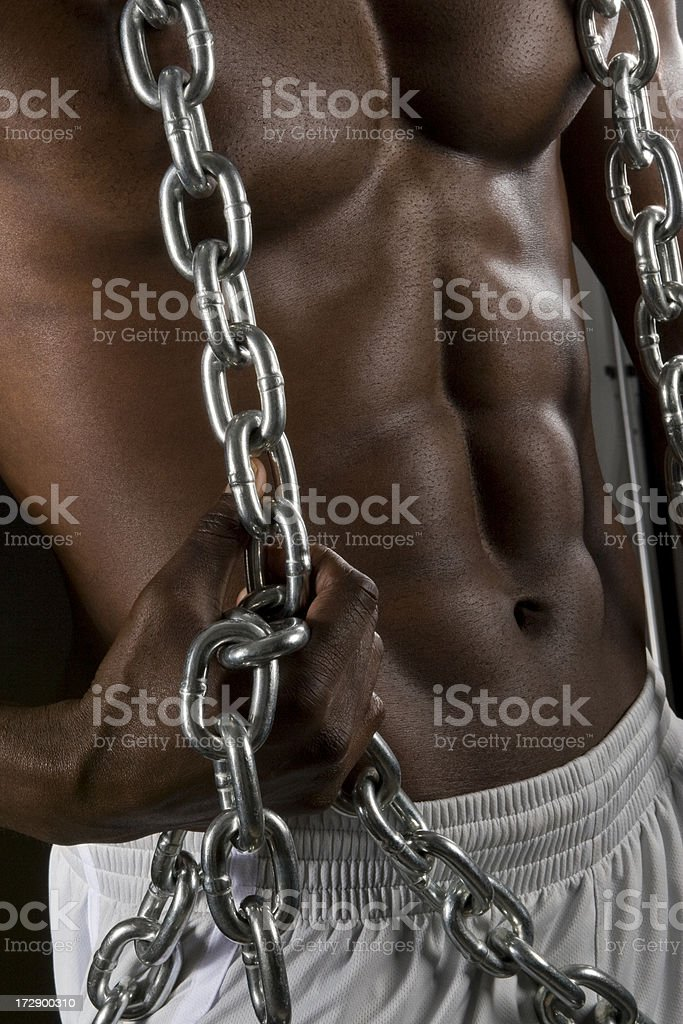 Abdominal Power royalty-free stock photo