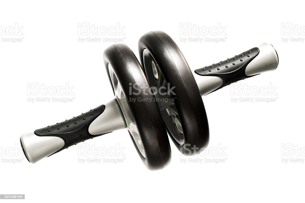 Abdominal wheel stock photo