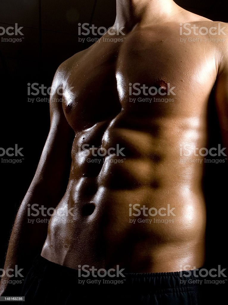 Abdominals royalty-free stock photo