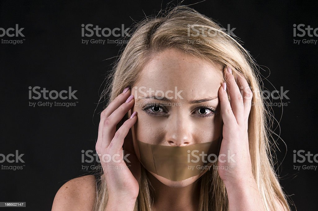 Abduction royalty-free stock photo