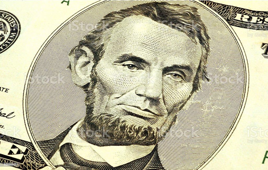 Abe royalty-free stock photo