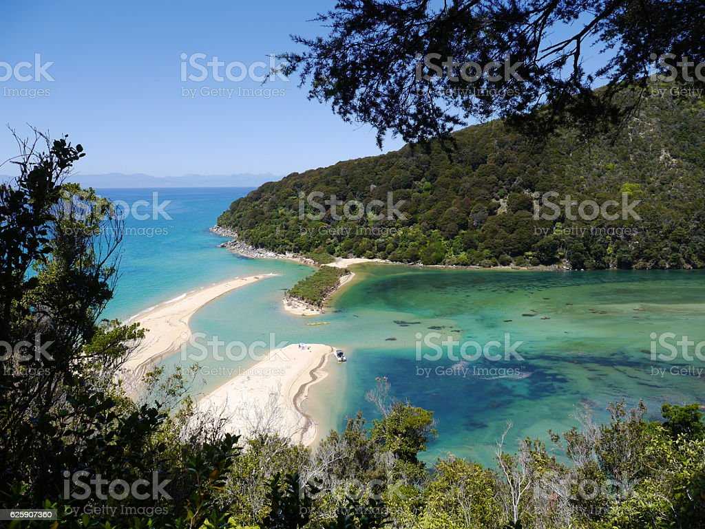 Abel Tasman - Beautiful Bay stock photo