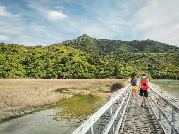 Abel Tasman Coast Track in Neuseeland. – Foto