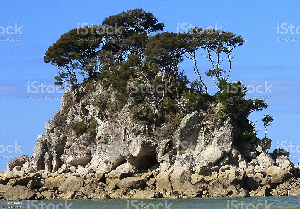 Abel Tasman National Park stock photo