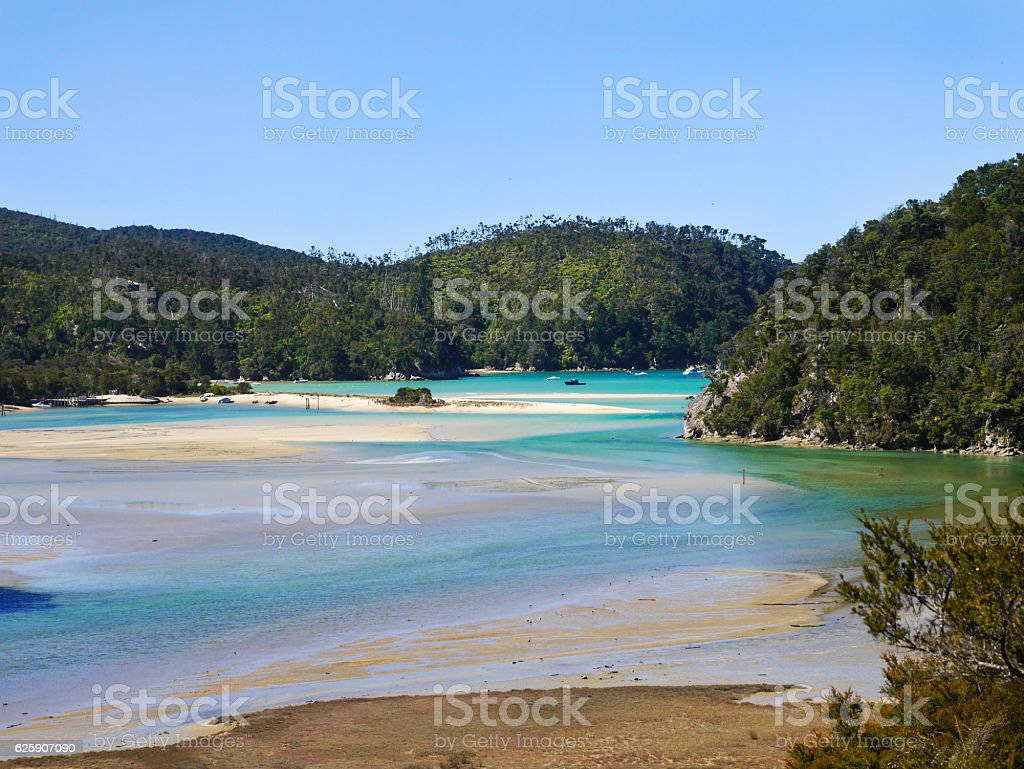 Abel Tasman National Park stock photo