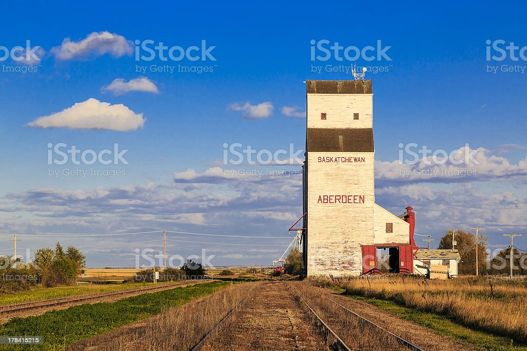 Aberdeen Grain Elevator royalty-free stock photo