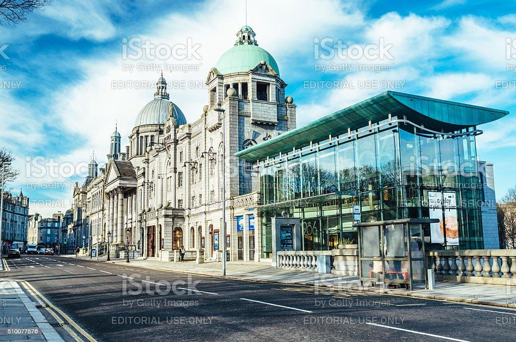 Aberdeen, Scotland stock photo