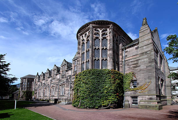 Aberdeen University New King's College Building stock photo