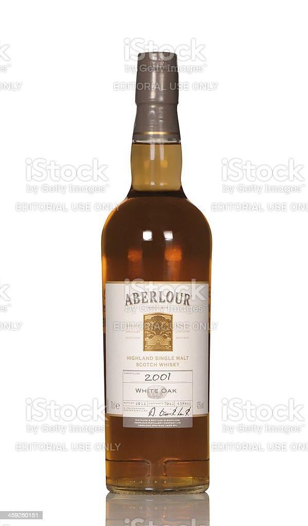 Aberlour whisky royalty-free stock photo