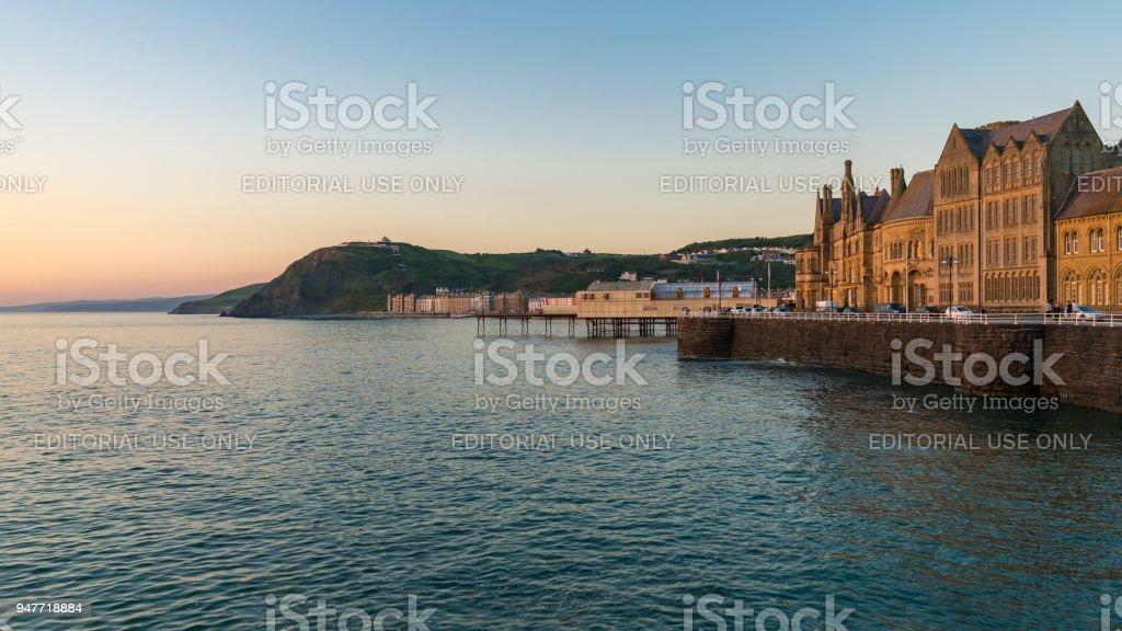 Aberystwyth, Ceredigion, Dyfed, Wales, UK stock photo