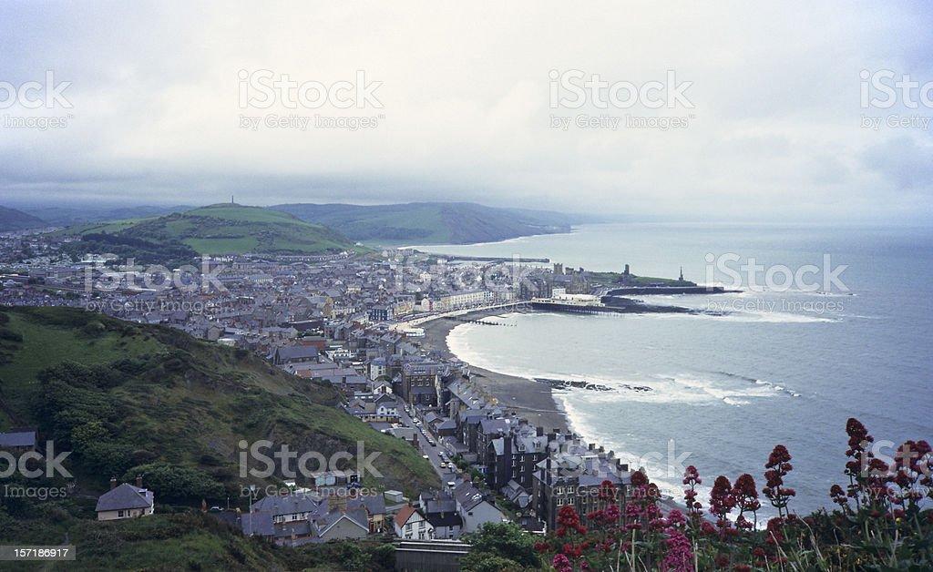 Aberystwyth, Wales stock photo