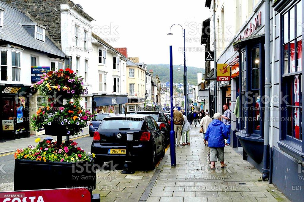 Aberystwyth, Wales. stock photo