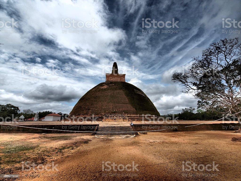 Abhayagiri Vihara d'Anuradhapura - Photo