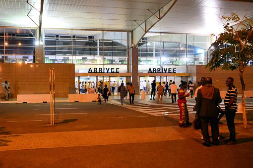 Abidjan Airport, international arrivals - Félix-Houphouët-Boigny International Airport, Abidjan, Ivory Coast