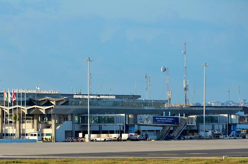 Abidjan Airport main terminal - Félix-Houphouët-Boigny International Airport, Abidjan, Ivory Coast