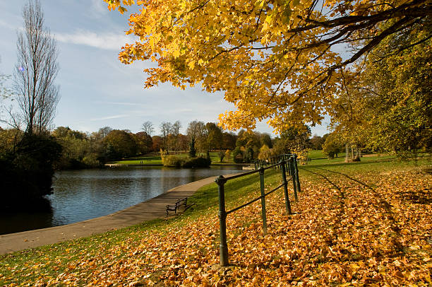 Abington Lake in Autumn – Foto