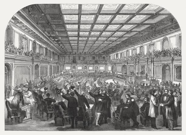 Abolish slavery in the USA on January 31, 1865 – Foto