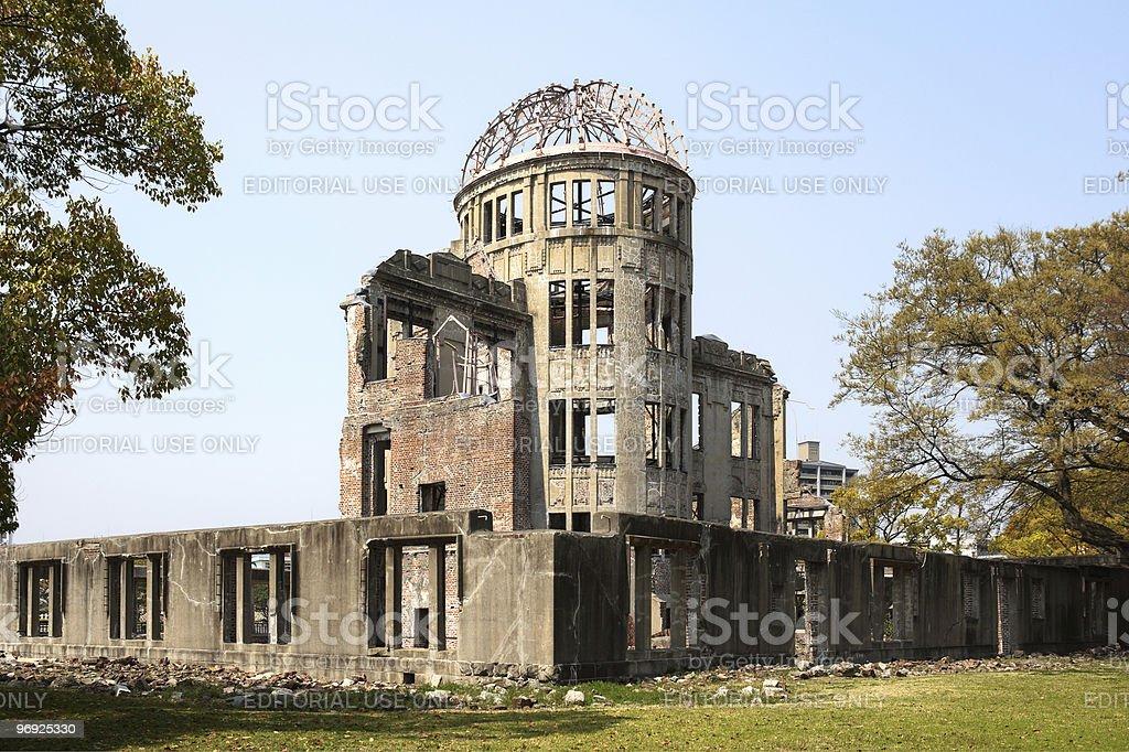 A-Bomb Dome Hiroshima/Japan royalty-free stock photo