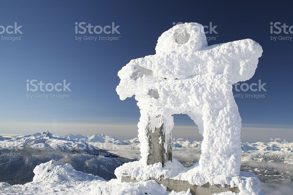 Abominable Snowman royalty-free stock photo