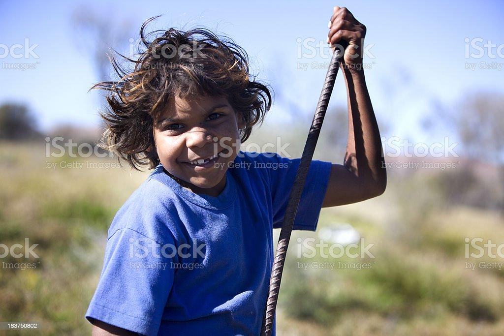 Aboriginal Child royalty-free stock photo