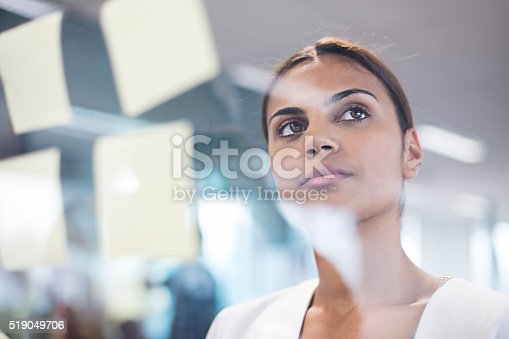 istock Aboriginal woman thinking about new ideas 519049706