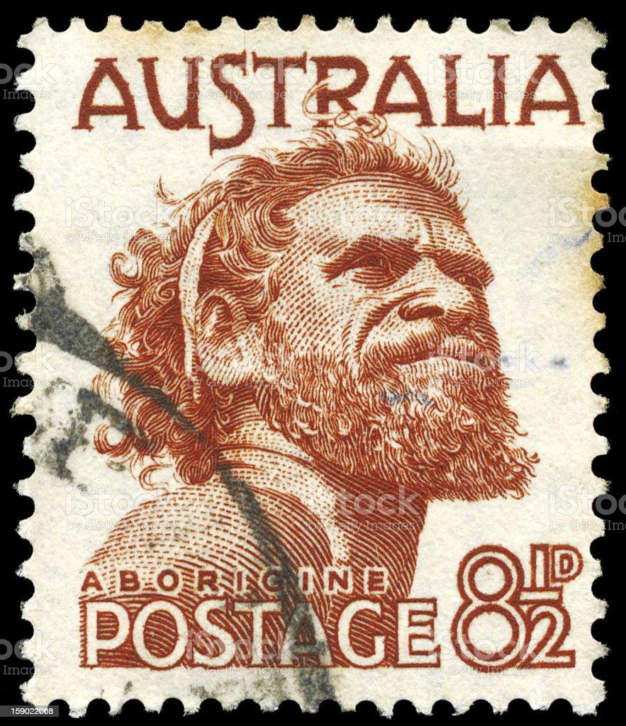 Aborigine royalty-free stock photo