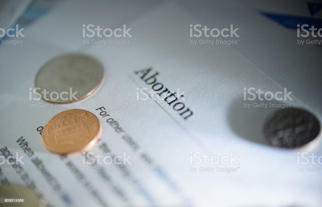 abortion stock photo