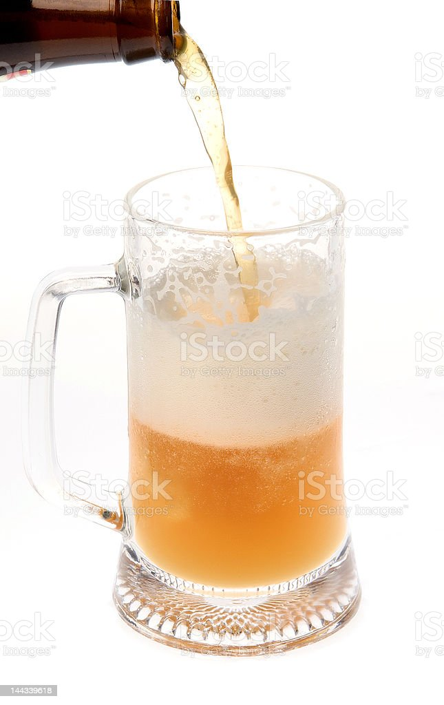 About Beer royalty-free stock photo