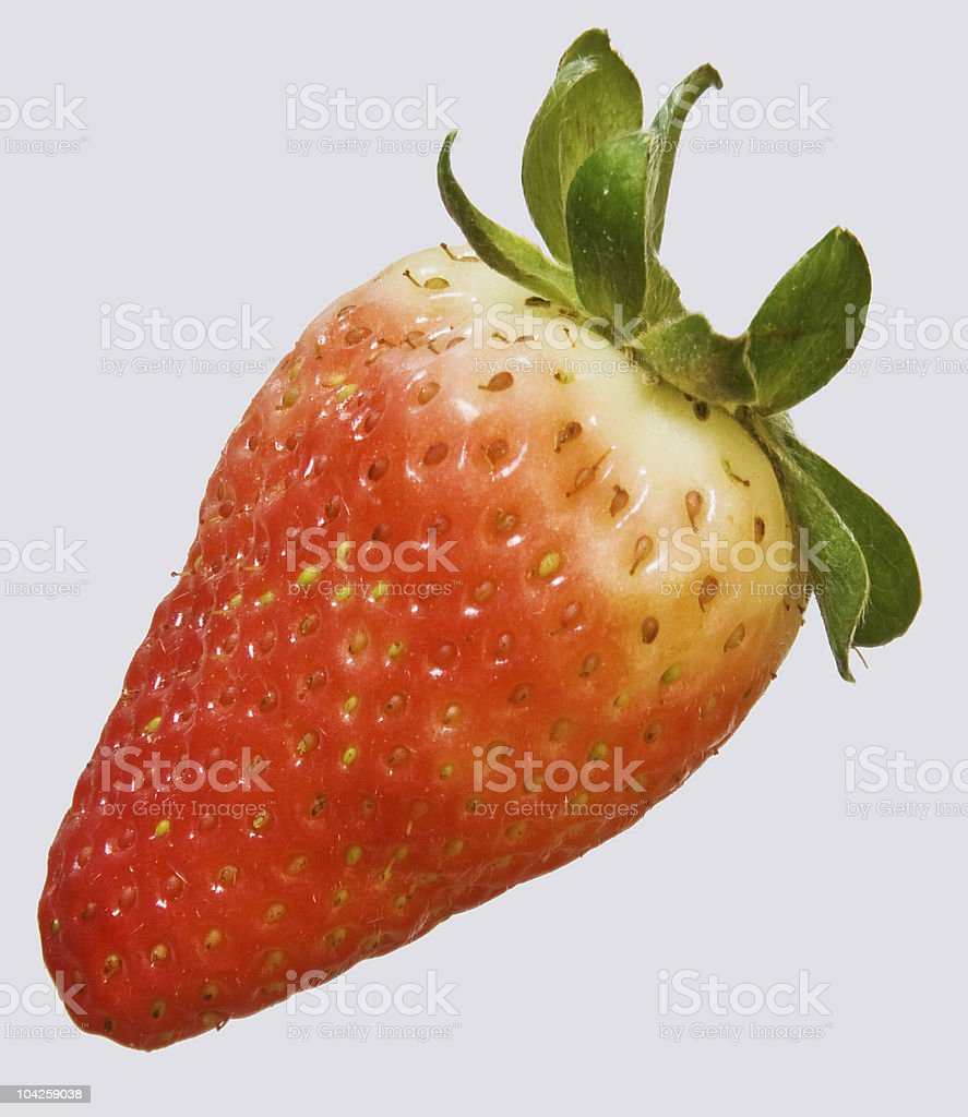 About Food: Fresh Strawberry Fruit Close-up royalty-free stock photo