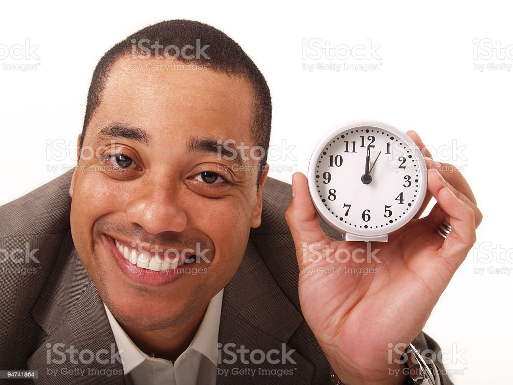 About That Time royalty-free stock photo