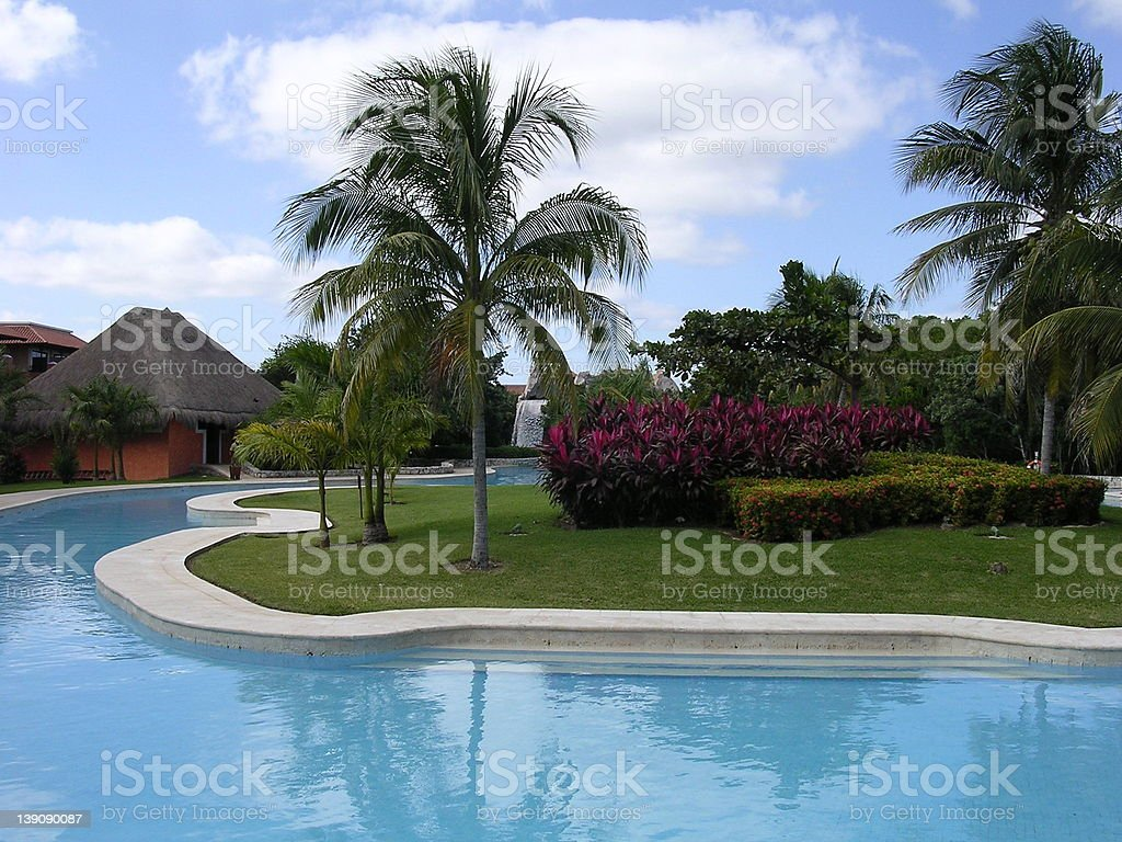 About the Pool royalty-free stock photo