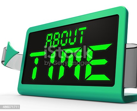 About Time Clock Showing Late Or Overdue