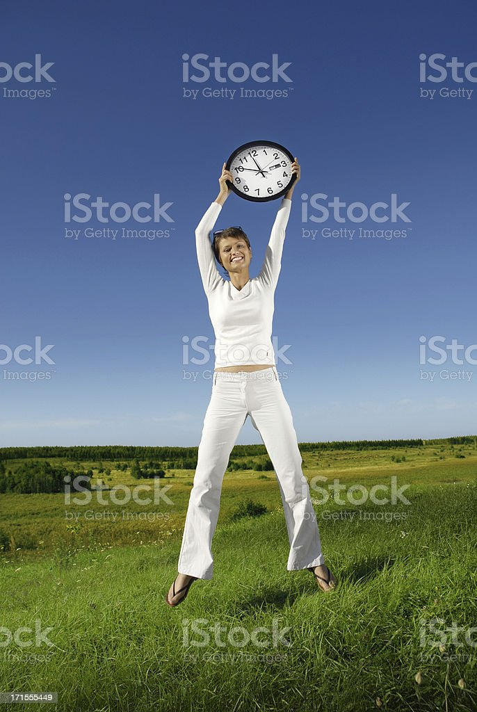 About time! stock photo