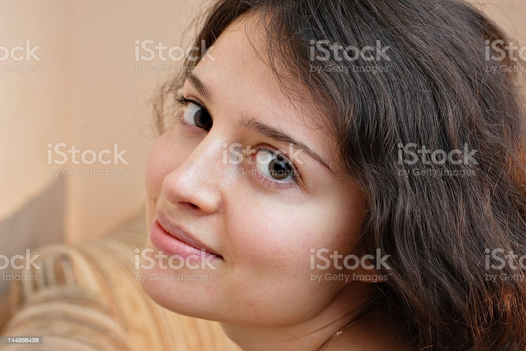 About to enjoy comfort stock photo