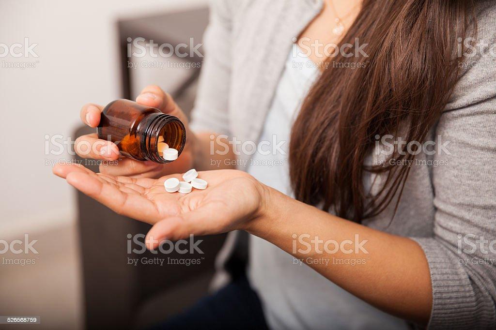 Zu einigen, aspirin – Foto