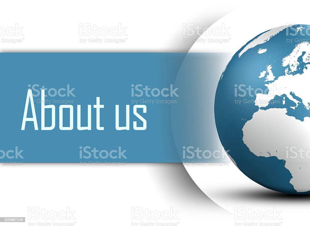 About us stock photo