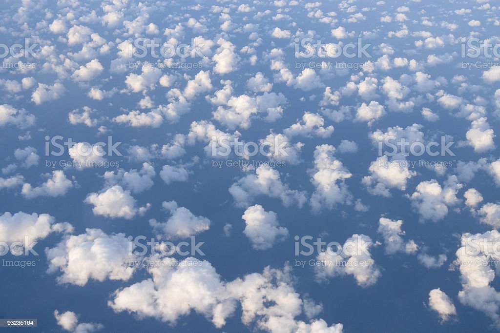 Above clouds royalty-free stock photo