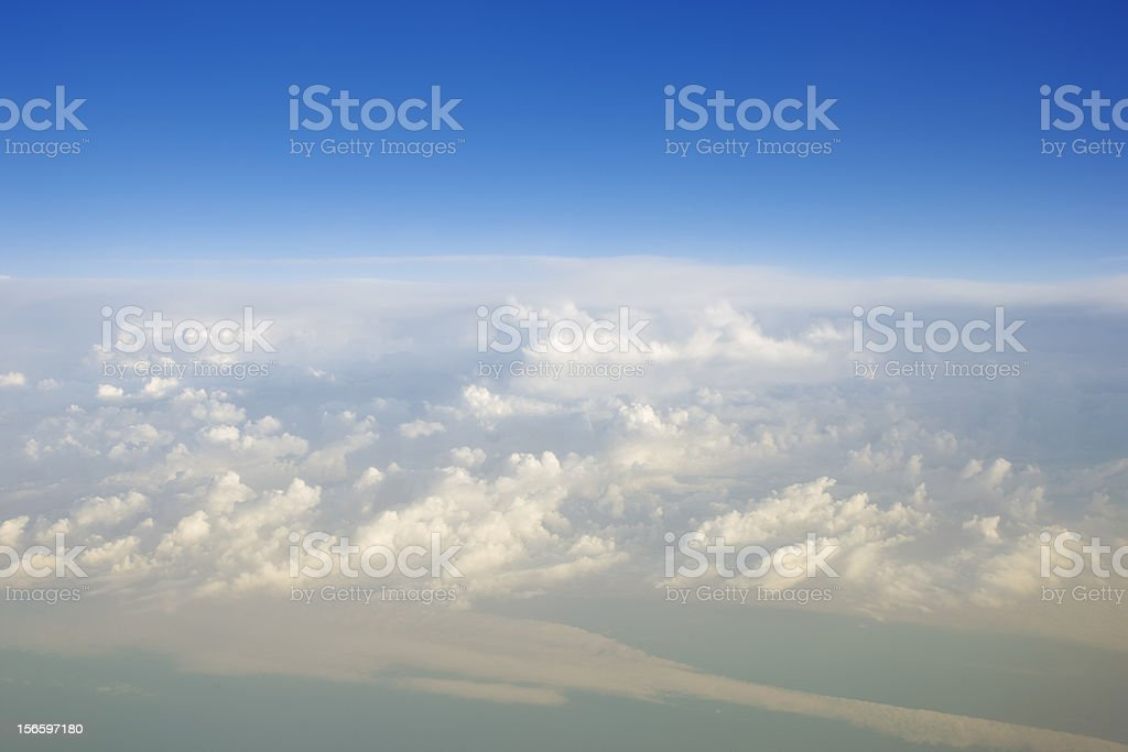 Above Fogs royalty-free stock photo