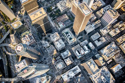 istock Above the City of Los Angeles 1163192597