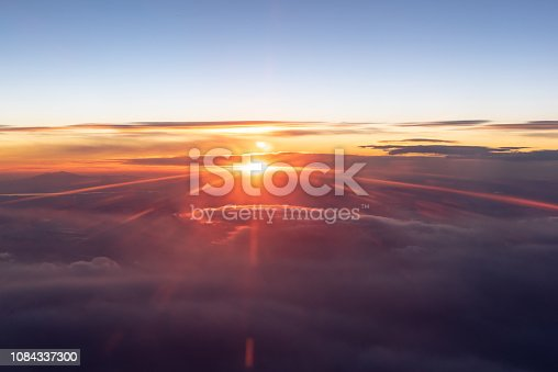 istock Above The Clouds At Sunrise 1084337300