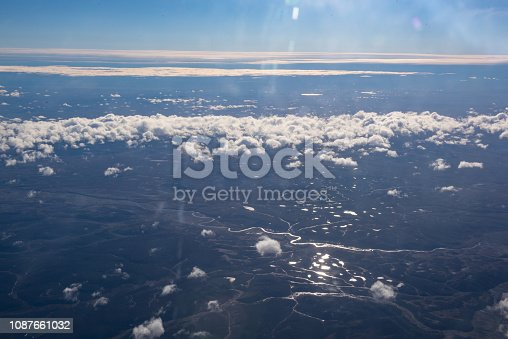 istock Above The Clouds At Sunrise 1087661032