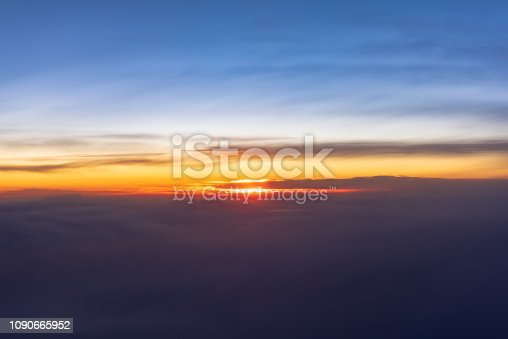 istock Above The Clouds At Sunrise 1090665952