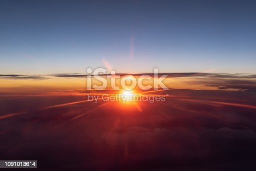 istock Above The Clouds At Sunrise 1091013614