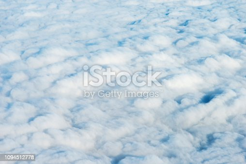 Above the clouds for background
