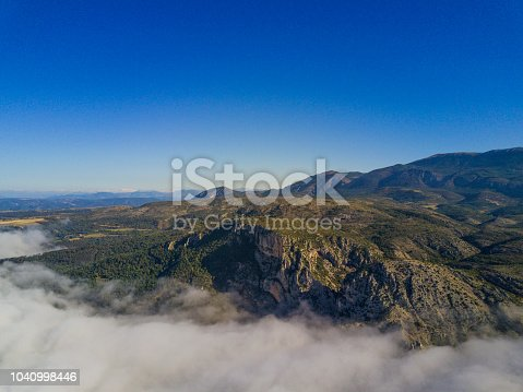 istock Above the clouds 1040998446