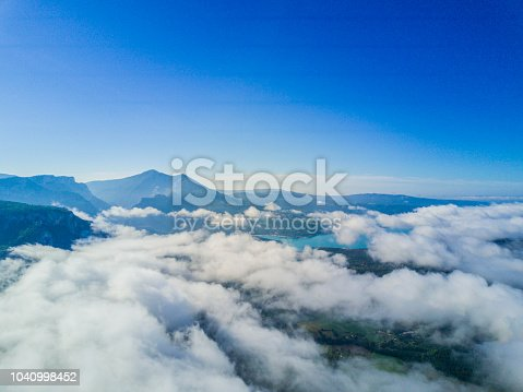 istock Above the clouds 1040998452
